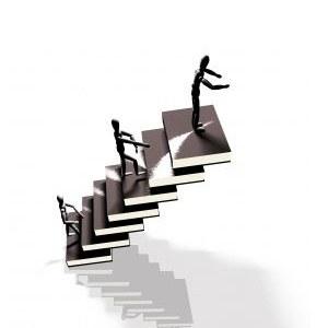 Da bi postali uspešni, morate iti korak za korakom