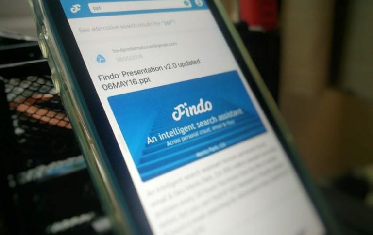 Findo zbral 3 milijone dolarjev za storitev iskanja datotek v naravnem jeziku