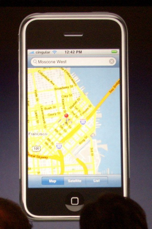 Google Earth prihaja na iPhone