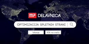 MP dogodek: Optimizacija spletnih strani