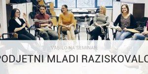 Podjetniški seminar za mlade raziskovalce