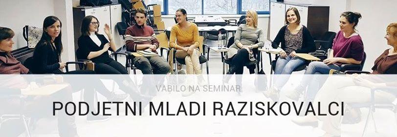 Seminar Podjetni mladi raziskovalci