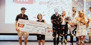 Matej Pelicon in Anita Lozar iz Pivovarne Pelicon sta mlada podjetnika leta 2017!