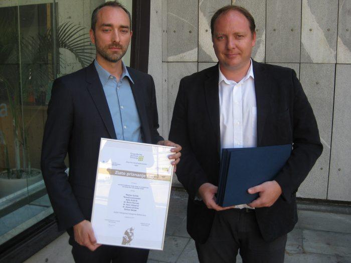 GoOpti; Marko Guček, direktor podjetja, in Sašo Sušnik, eden od ustanoviteljev in lastnikov podjetja)
