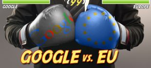 Rekordna kazen za Google zaradi zlorabe monopolnega položaja