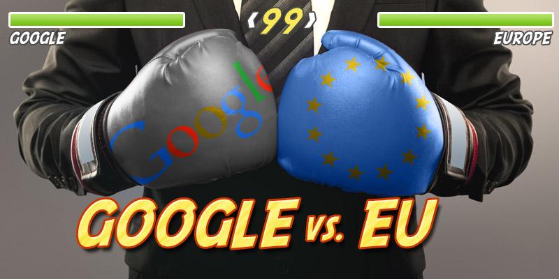 google proti eu