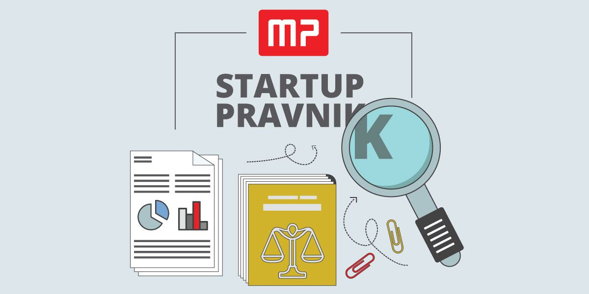 Startup pravnik, startup pravo