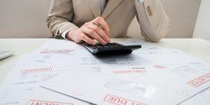 Izterjava dolga zaradi neplačanega računa
