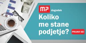 MP dogodek: Koliko me stane podjetje?