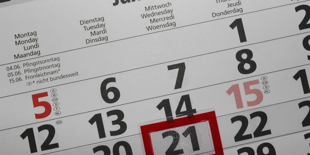 koledar poslovnih obveznosti
