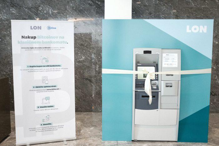 LON bankomat