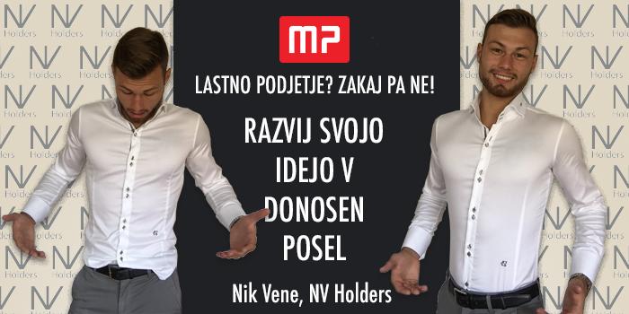 Razvij svojo idejo v donosen posel z Navdihom Nika Veneta