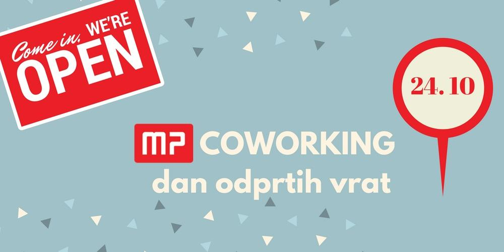 MP coworking dan odprtih vrat