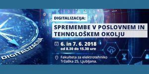 Digitalna akademija: Digitalizacija: Spremembe v poslovnem in tehnološkem okolju