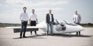 90-milijonska investicija za nadaljnji razvoj električnega letečega avtomobila