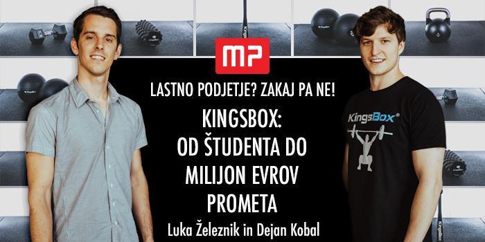 kingsbox od študenta do milijon evrov prometa