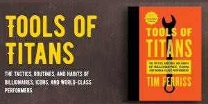 Predlog za branje: Tim Ferriss: Tools of Titans