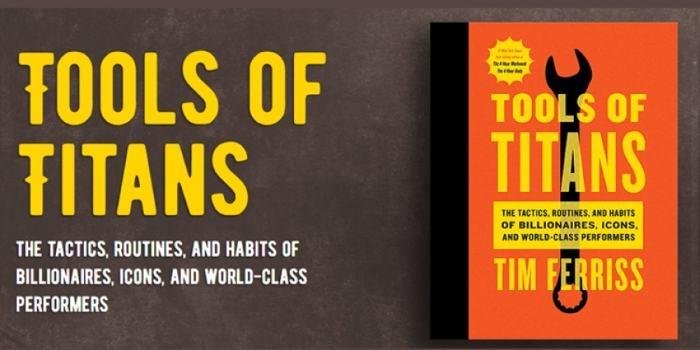 Predlog za branje, Tim Ferriss