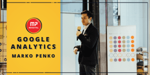 Google Analytics delavnica in Marko Penko