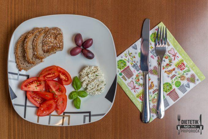 Dietetik priporoča hrana