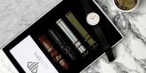 Elegantne ročne ure z zamenljivimi paščki na platformi Indiegogo