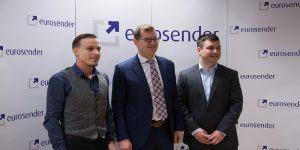 Eurosender z novimi pridobitvami nadaljuje zgodbo o uspehu