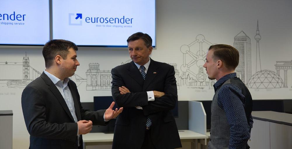 Projekt pohvalil tudi predsednik RS Borut Pahor (Vir: Eurosender)