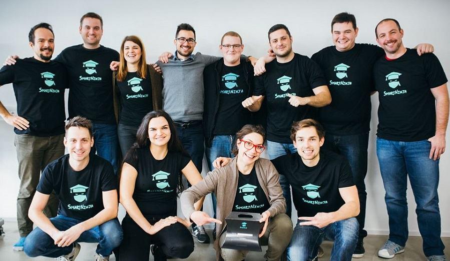 Ekipa SmartNinja (Vir: smartninja.si)