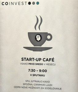 Start up cafe (Vir: Simon Maljevac)