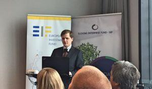 Michal Kosina European Investment Fund CEFof Ljubljana