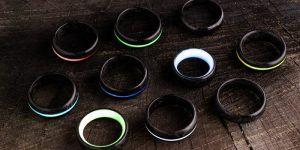 Ročno izdelani prstani iz karbonskih vlaken na Kickstarterju
