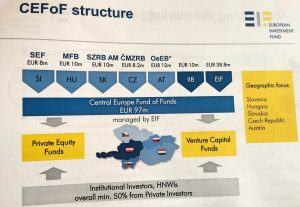 CEFoF structure European Investment Fund Venture capital funds Private funds