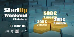KIKštarter startup vikend