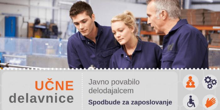Spodbude za zaposlovanje oseb iz programa Učne delavnice