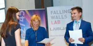 Falling Walls Lab Ljubljana spodbuja podjetniške inovacije