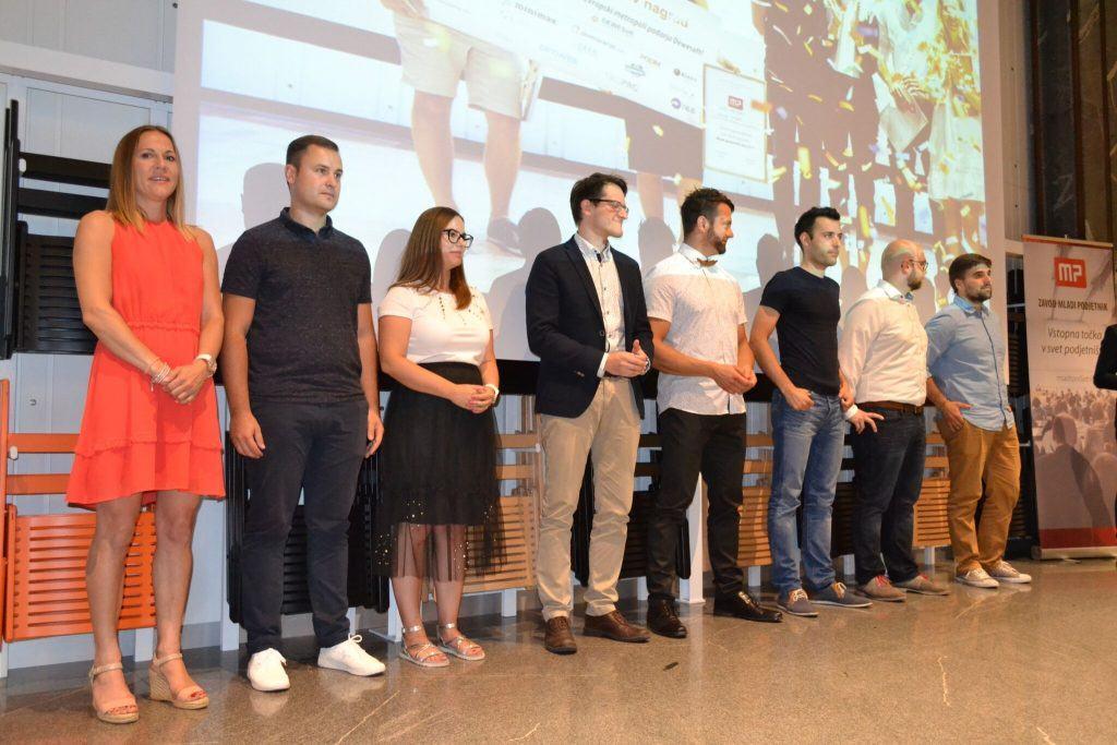 Finalisti izbora Mladi podjetnik leta 2018