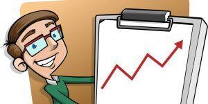 Obetavni podatki o višini prodaje in presežku gospodarstva