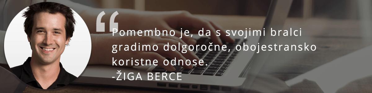 Žiga Berce o email marketingu.