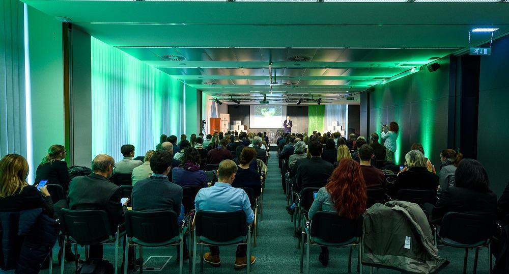 Konference Healthday.si so se udeležili številni obiskovalci, ki delujejo na področju inovacij v zdravstvu (Vir: Tehnološki park Ljubljana)