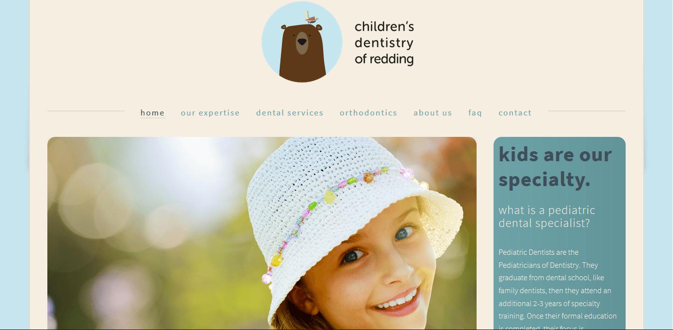 Spletna stran Smile redding