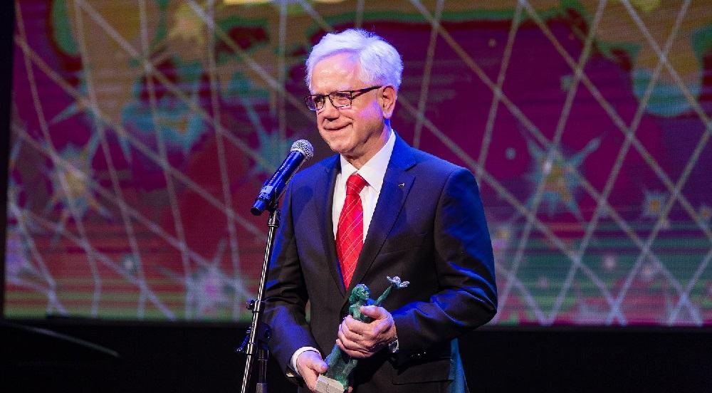 Bogomir Strašek, prejemnik priznanja za življenjsko delo na področju managementa (Vir: Združenje managerjev)