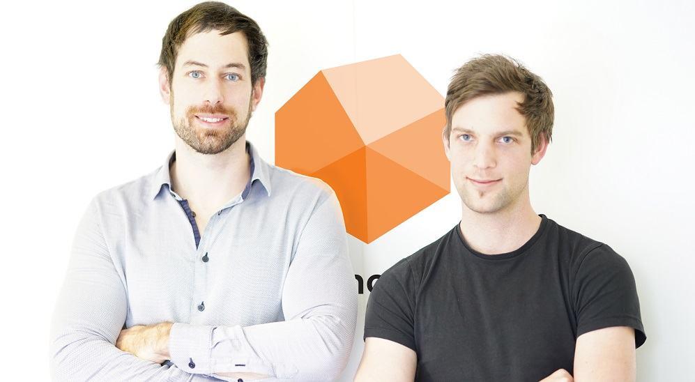Ustanovitelja podjetja DaiBau, arhitekta Martin Pelcl in Gregor Černelč (Vir: Inštitut za raziskovanje podjetništva)