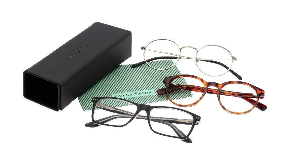 Stranka prejme na dom tri različna očala, ki jih preizkuša en teden (Vir: osebni arhiv)