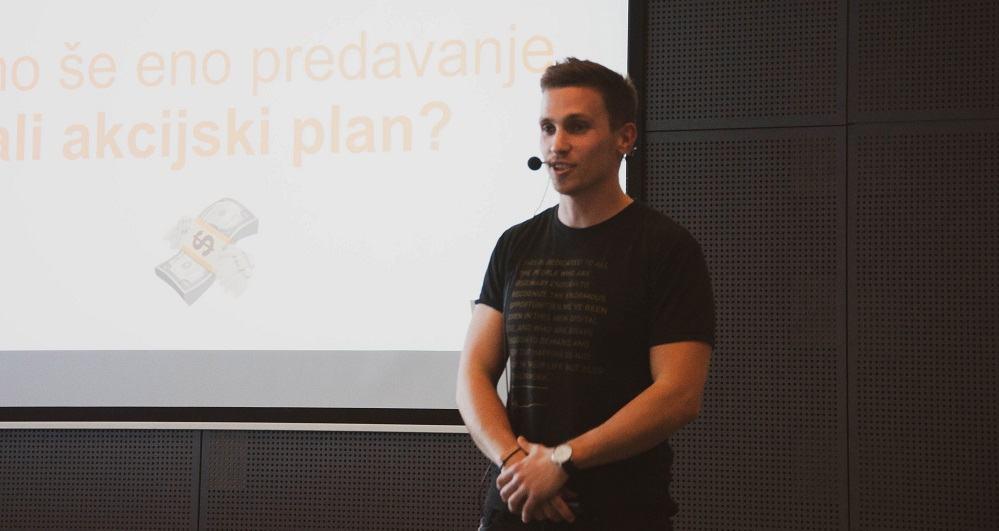 Jure Knehtl, strokovnjak za Facebook marketing (Foto: Kristina Simčič)
