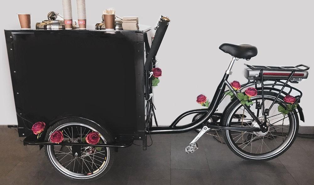 Promo Bike - ponudba kave za boljše vzdušje na poslovnih dogodkih (Vir: osebni arhiv)