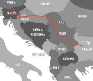 Zemljevid poti (Vir: ustvarjalnik.org)