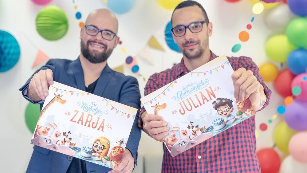 Mali junaki - personalizirane knjige za otroke (Vir: osebni arhiv)