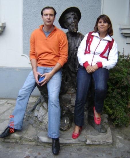 Saška in Bojan, ustanovitelja podjetja Promo Bike (Vir: osebni arhiv)