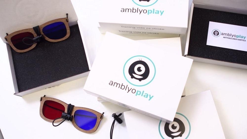 AmblyoPlay - rešitev za izboljšanje vida pri otrocih z lenim očesom (Vir: osebni arhiv)