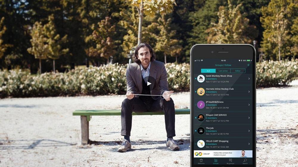 Aplikacija za komunikacijo brez uporabe družabnih omrežij (Vir: Kickstarter)